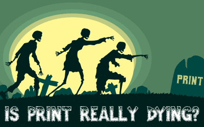 Print Design – Is Print Dead [2019]